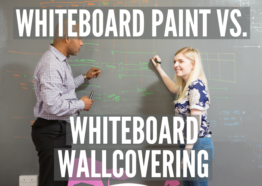 Whiteboard Paint vs. Whiteboard Wallcovering | Smarter Surfaces