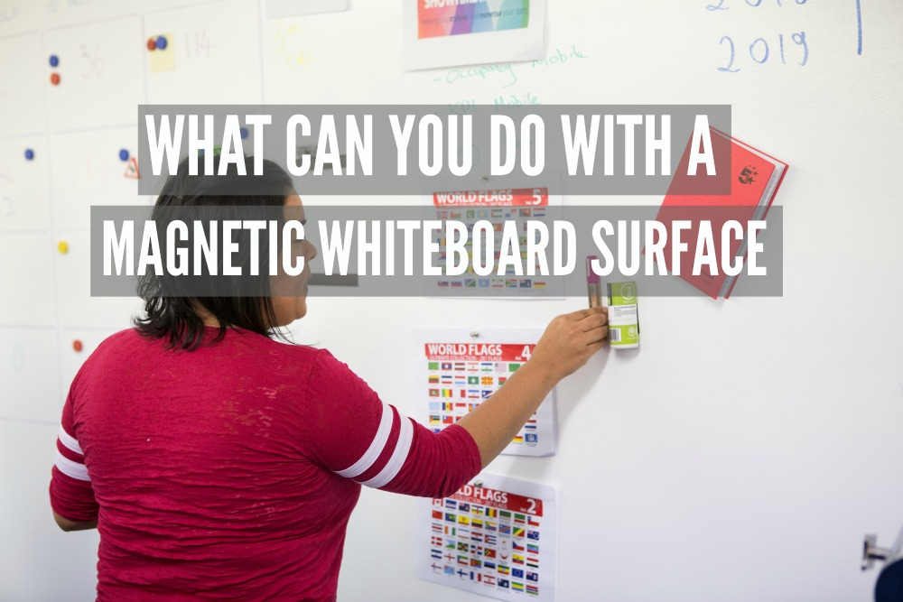 magnetic plaster, magnetic whiteboard, magnetic functionalities, commercial, magnetic whiteboard