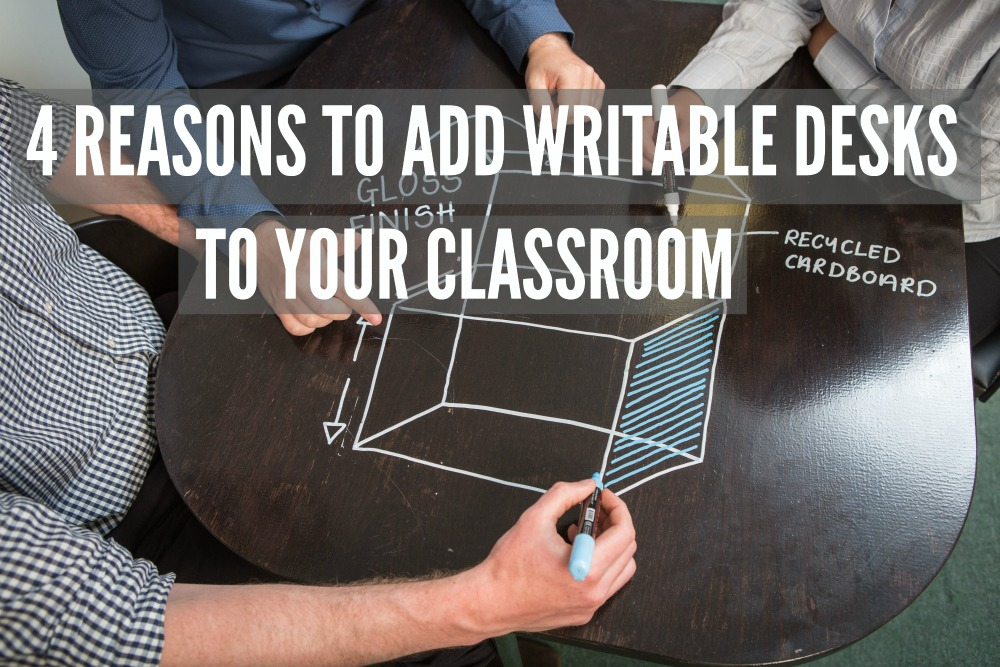 WRITABLE DESKS Whiteboard paint clear office lunch table 2
