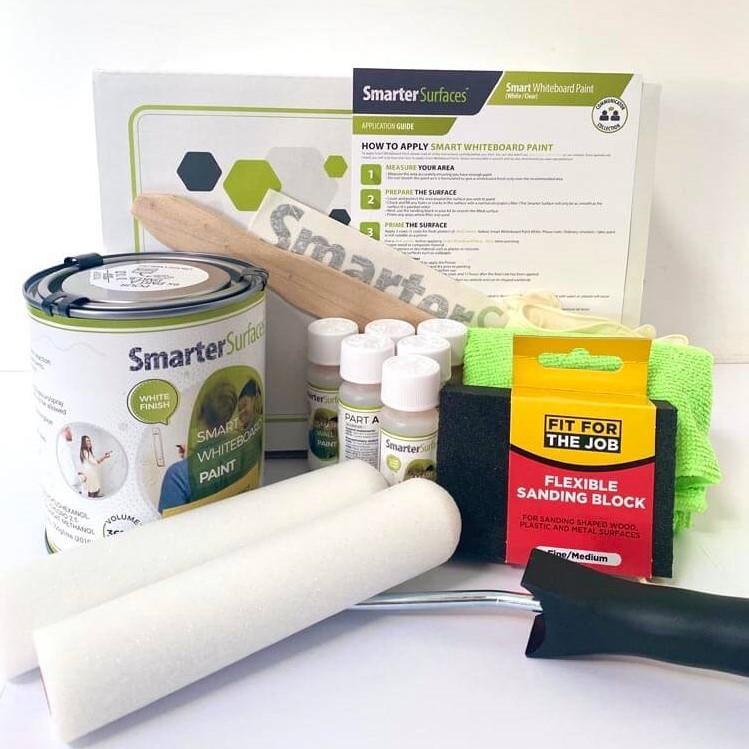 Smart-Whiteboard-Paint-White-Full-Kit-with-box