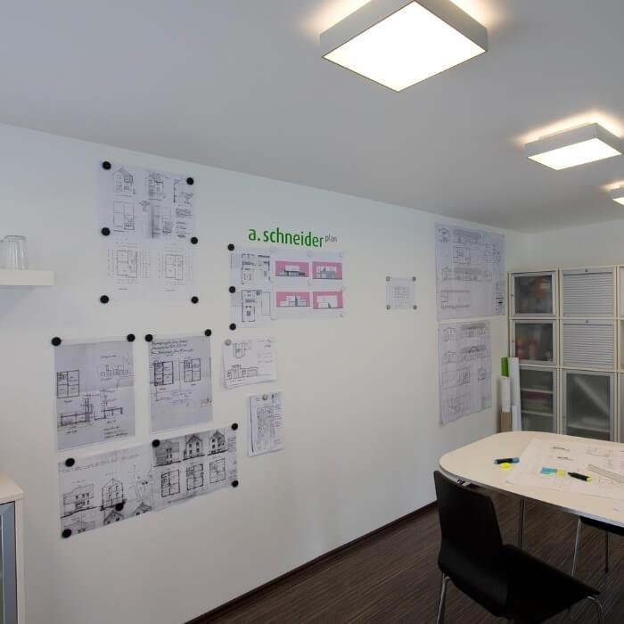 product f u full magnetic wall transformed with smart magnetic plaster