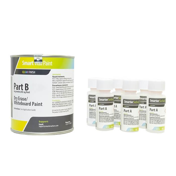 Whiteboard paint clear transparent whiteboard paint 6 sq.m whiteboard wall whiteboard surface 1