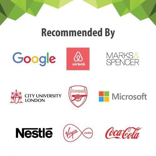 UK customer logos of Smarter Surfaces