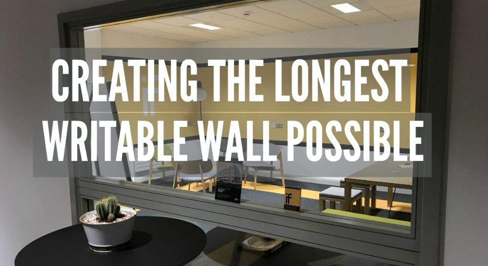 Innovatory Factory and Smarter Surfaces writable wall