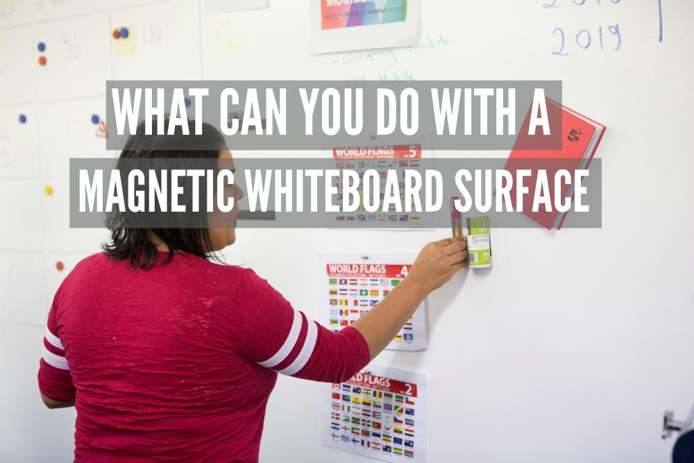 magnetic plaster magnetic whiteboard magnetic functionalities commercial magnetic whiteboard