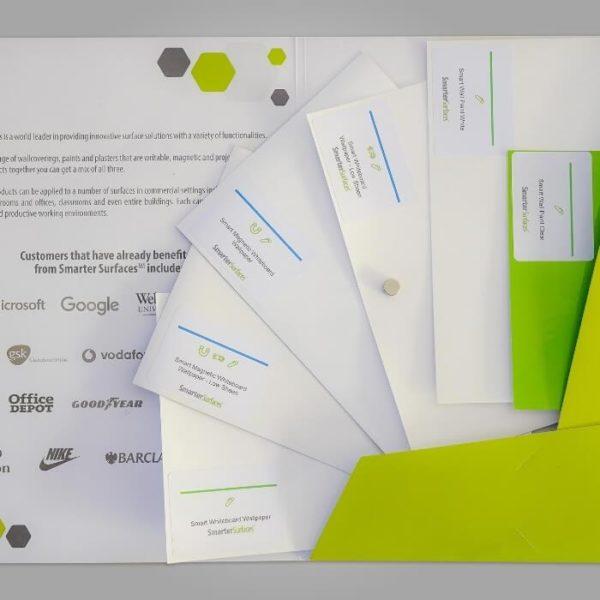 Whiteboard Products Sample Range