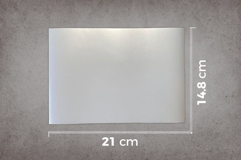 smart-magnetic-whiteboard-wallpaper-low-sheen-A5-sample-ruler-cm