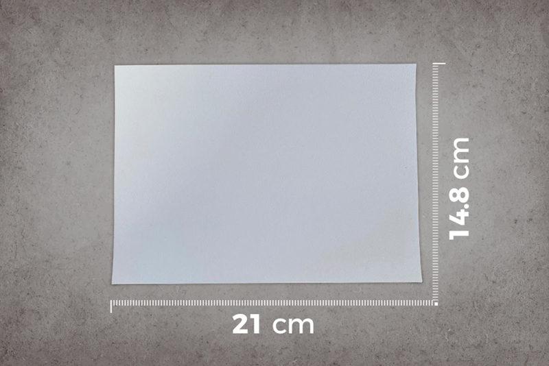 smart-whiteboard-paint-white-A5-sample-ruler-cm