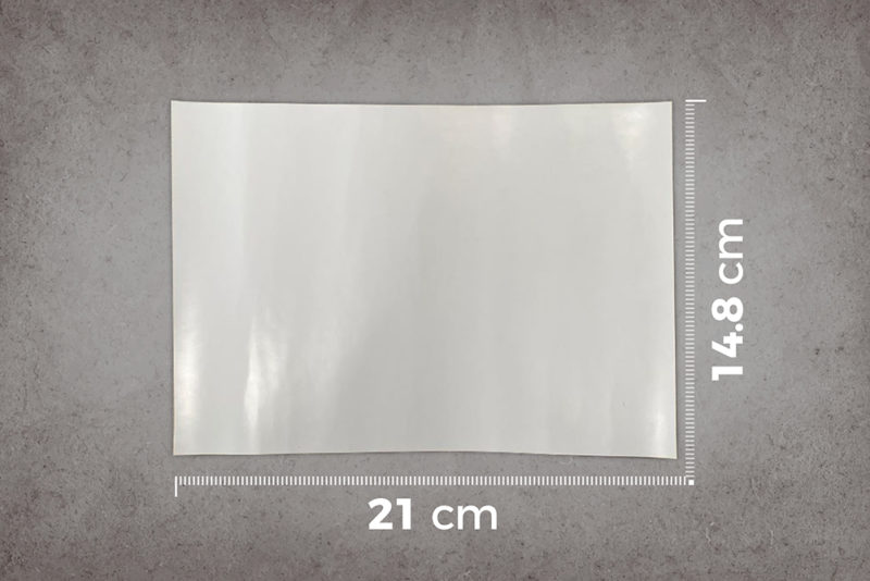 smart-whiteboard-wallpaper-low-sheen-A5-sample-ruler-cm
